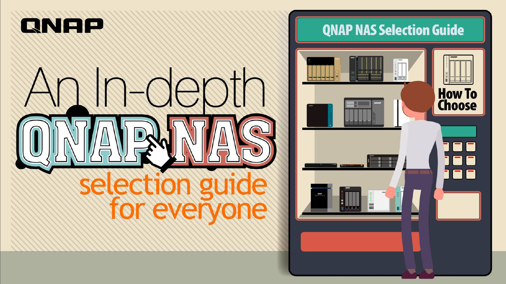 An in-depth QNAP NAS selection guide for everyone – QNAP Marketing